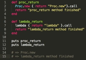 Ruby Procs & Lambdas